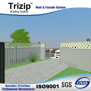 Privacy Aluminum Sheet Fence for Australia Market. pictures & photos