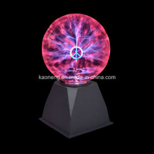Party Decoration, Peace Symbol Plasma Light