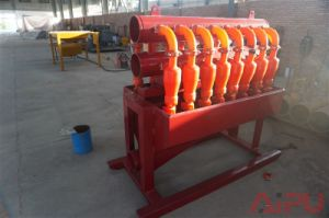 Well Drilling and Mud Cleaning Mud Desilter