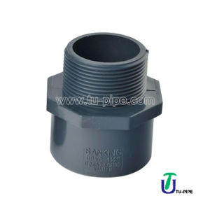 Industrial UPVC Male Adapter ASTM Sch 80 (S*NPT) pictures & photos
