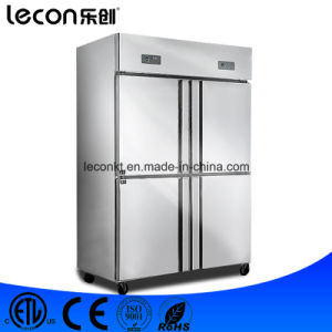 Hot Sale Version Stainless Steel Four Doors Refrigerator