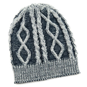 e64ae2c1 China Unisex Knitted Cable Print Jacquard Winter Warm Hat Beanie ...