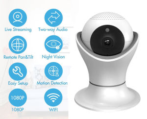 Shenzhen Factory Cheap Wireless Security Camera High Resolution 1080P WiFi IP Camera pictures & photos