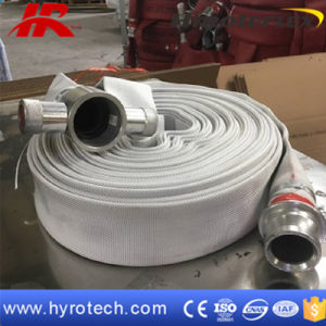 Rubber Lining Single jacket Fire Hose for Fire Fighting Equipments pictures & photos