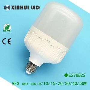 5W/10W/15W/20W/30W Plastic Aluminum LED Light/Lighting Bulb with E27/B22 pictures & photos
