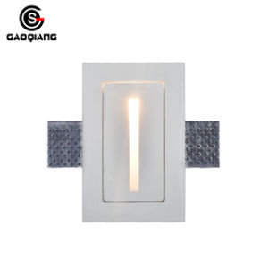 Embedded Down Lamp Household Led Plaster Lighting Gqd8007a