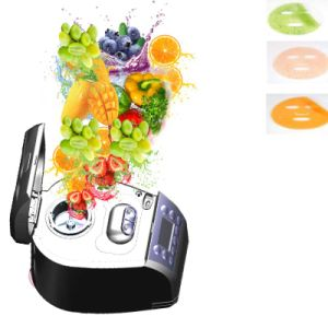 Full Automatic Multifunction Natural Fruit Vegetable Collagen Diy Fruit Mask Machine For Face Eye Hand Breast Foot Neck