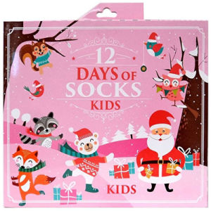 12 Days Of Christmas Socks.Custom Novelty Holiday 12 Days Of Christmas Socks Advent Calendar