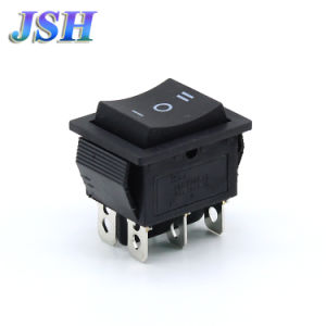 China Kcd4 6p on off on Black Rocker Button Switch - China Rocker Switch,  Reset Swtich ff60fe49800