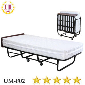 Folding Extra Bed With Spring Mattress