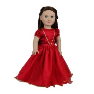 71f93012464e China 18inch American Girl Doll Clothes New Doll Clothes Red Dress ...