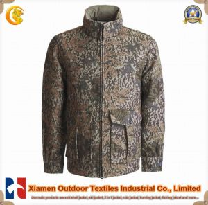Mans Outdoor Camouflage Leafs Military Hunting Jacket