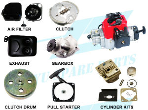 China 2 Stroke 33cc Gas Scooter Engine Parts (1E32F) - China