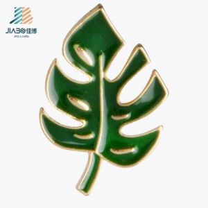 Good Factory Price Casting Green Enamel Color Custom Tree Brooch pictures & photos