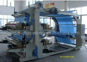 Good Manufacturer 4 Color Non-Woven Printing Machine