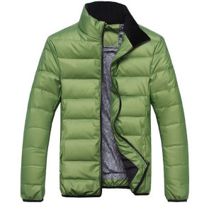 2015 Men Fashion Casual High Quality Padding Winter Jacket pictures & photos