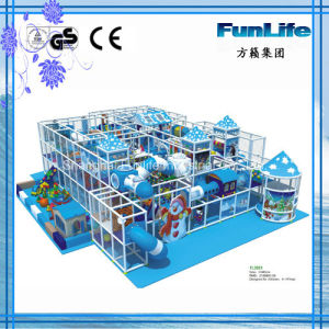 Indoor Soft Playground Colorful Play Area China