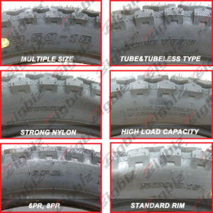 Wholesale High Strength Chinese Color Offroad Motorcycle Tires pictures & photos