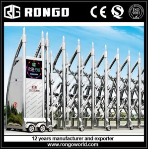 Electric Folding Fence Barrier Sliding Gate
