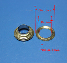Brass Round Metal Grommet Eyelet for Shoes, Metal Eyelets Ring, Eyelet for Shoes pictures & photos