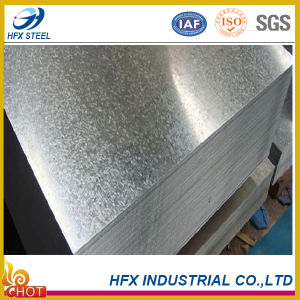 Hot Dipped Zinc Coated Galvanized Steel Plate with Z 40g-275g