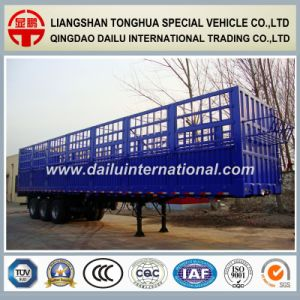Stake /Fence Cargo /Bulk Semi Trailer to Transport Grain or Animals