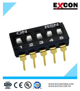 Slide Switch Excon Ri-05 Toggle Switch with RoHS Compliant