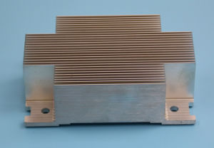 Extruded Aluminum 6063 Profile Heat Sink Cooler pictures & photos