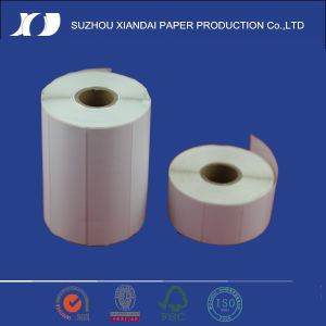Adhesive Thermal Label Roll Direct Sticker in Roll for Barcode Printer pictures & photos