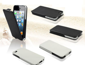 New Foldable Leather Flip Cell Phone Case for iPhone 5 pictures & photos