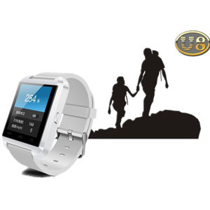 2014 Hot Selling Design U8 LCD Display Handsfree Smart Bluetooth Watch for Smartphone, Tablets