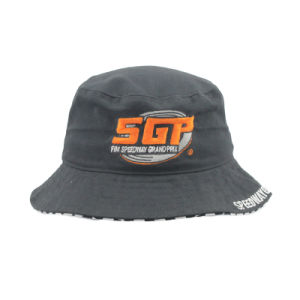 Heavy Brushed Cotton Fisherman Hat with Custom Made Embroidery Logo pictures & photos
