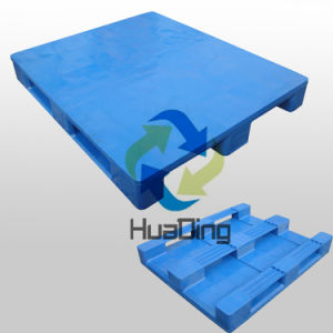 L1200*W1000*H150mm Heavy Duty 3 Runners Closed Deck Hygeian Plastic Pallet, Tray pictures & photos
