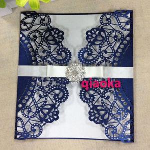 China ql009 lovely royal blue laser cut wedding invitation cards ql009 lovely royal blue laser cut wedding invitation cards stopboris Choice Image