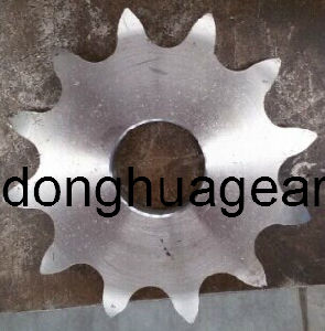 Double Single Sprocket with One Hub and Keyway 50b13z