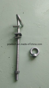 Eye Bolt for Cable Fastening (One eye) pictures & photos