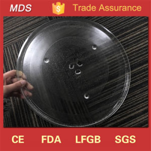 Six Foot Round 345mm Microwave Oven Glass Turntable Plate pictures & photos