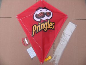 Food Beverage Restaurant Promotional Gift Diamond Shape Kite pictures & photos