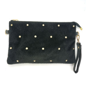 New Designer Fashion Wholesale Fur Evening Clutch Bags