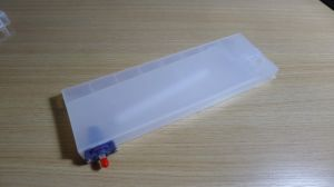 Plastic Ink Cartridge, Made of Plastic Injection, Customized Designs Are Welcome