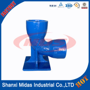 ISO 2531 Ductile Cast Iron All Socket Tee Pipe Fitting pictures & photos