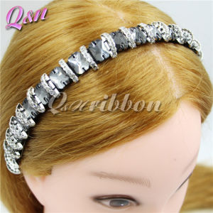 Plastic Gemstone Crystal Bead Headband