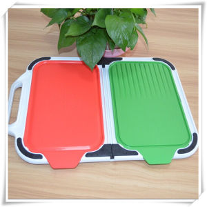 Kitchen Utensils Plastic Cutting Board (VK14017)