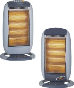 Halogen Heater Hg-160A/Hg-160ar, RoHS/CE/GS Certificated Halogen Heater with Handle, 400/800/1200W Power