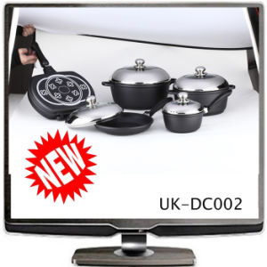 Die-Cast Aluminum Non-Stick Cookware Set (UK-DC002)