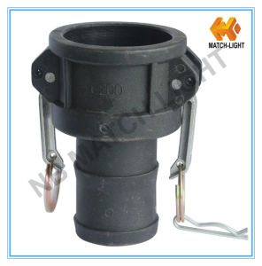 Polypropylen Coupler Type C with Grooved Hose Shank Camlock Fittings pictures & photos
