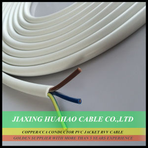 2core 3core 4core 5core Copper/CCA Conductor PVC Jacket Rvv Cable/Flexible Cable pictures & photos