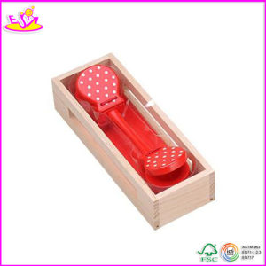 2014 Best Selling Wooden Castanet Toy, New and Popular Castanets Toy, Mini Kids Castanets Toy W07I036 pictures & photos