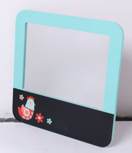 Wooden Message Board with Mirror for Kids Education Toys pictures & photos