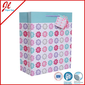 China Decorative Handmade Paper Gift Bag Floral Paper Gift Bags